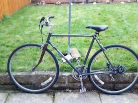 Raleigh men's bike (with lock)