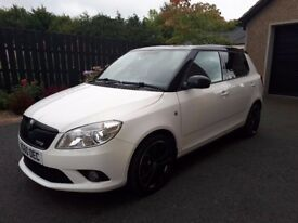 Immaculate condition, only 60k miles with a service history. White with black roof and alloys.