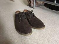 Topman Brown Smart Shoes - Size 8