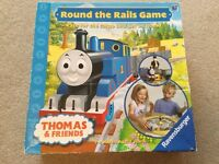 Thomas and friends round the rails game Great fun board game