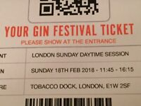 2 Gin festival tickets