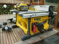 DeWalt DCS7485 54v XR Cordless Table Saw