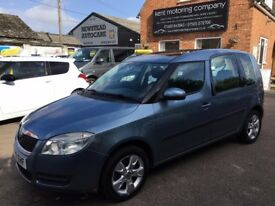 Skoda Roomster 1.6 Automatic, Low Mileage, Full History