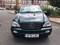 (51) MERCEDES-BENZ M CLASS ML270 CDI 4x4 LOW MILEAGE EXCELLENT CONIDITION