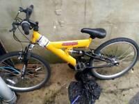 Yellow 24inch Bike