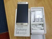 Samsung Galaxy S6 EDGE- 32GB - GOLD (Unlocked) Smartphone