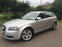 AUDI A3 2.0 TDI SE MET SILVER 5 DOOR HATCH PX WELCOME ALL MAJOR CARDS ACCEPTED