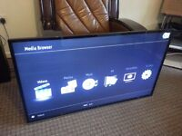 SMART TV JVC 50 INCHS WITH BOX