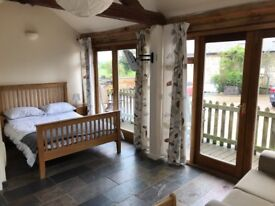 Fully self contained en suit bedsit studio rural cottage for rent outskirts of Towcester.