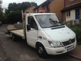 2005 Mercedes sprinter lwb recovery truck