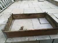 Garden raised beds in good used condition
