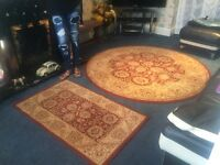 100% WOOL - 100% PERSIAN RUGS - ROYAL KESHAN - SAROUK 08181 / 9335 WAS £1000