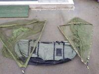 Complete landing net set up