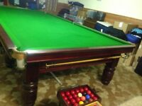 Full size 12ft x 6ft Professional Snooker Table
