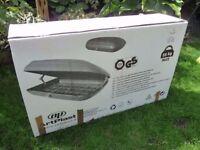 ARTPLAST CAR ROOF BOX - NEW & BOXED - RRP £175!