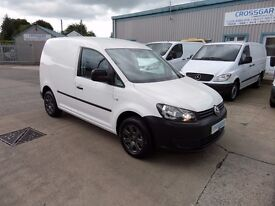 VOLKSWAGEN CADDY 102 2013 WITH JUST 52322 MILES**NO VAT**