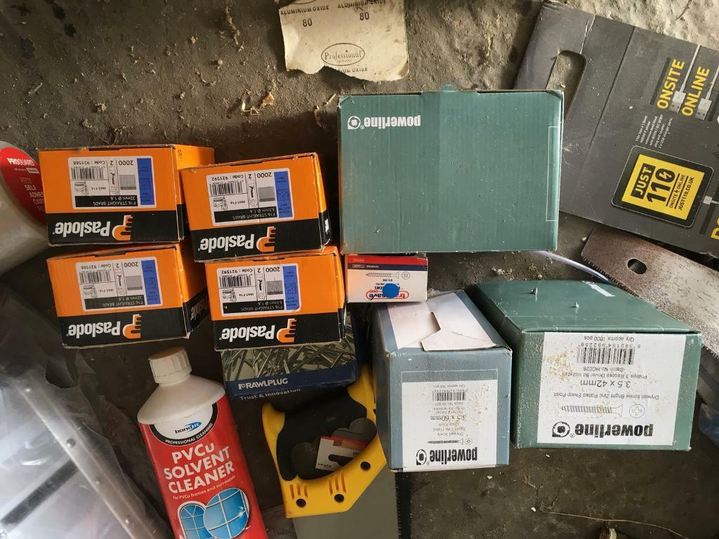 Screws/nails for sale