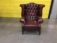"""Single seater Chesterfield """"FREE LOCAL DELIVERY """""""