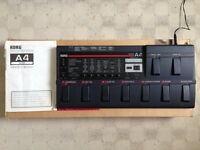KORG A4 GUITAR MULTI EFFECTS PROCESSOR