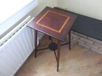 Edwardian table fully inlaid