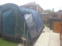 for sale outwell large 5 person tent 3 + 2 bedrooms £ 30