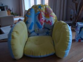 In the Night Garden inflatable chair.