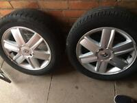 """Renault alloys tyres wheels set of 4,16"""" inch"""