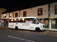 Minibus and/or coach driver (D or D1 licence) needed for Godalming based transport company.