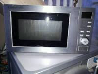 Microwave combi grill