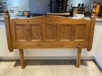 Pine Headboard - For Double Bed