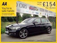 BMW 1 SERIES 2.0 116D SE 3d 114 BHP CHOICE OF 6 AVAILABLE! Appl (black) 2014
