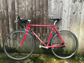 Red Raleigh Road Bike