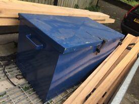 Steel box, van safe, trailer box etc