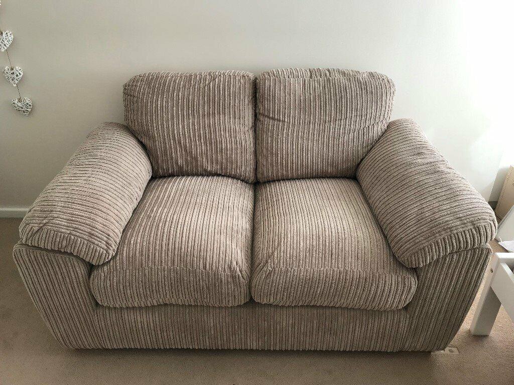 Cool 2 Seater Sofa Harveys Burrow In Beige Cord Like New In Thornbury Bristol Gumtree Machost Co Dining Chair Design Ideas Machostcouk