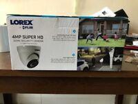 Lorex 4mp dome security camera