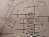 Garage Unit and land to let / rent