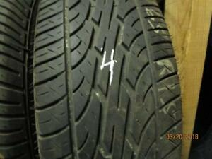 205/65R15 SINGLE ONLY USED DUNLOP A/S TIRE