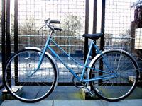 Beautiful Ladies Lightweight French Single speed bike, Serviced