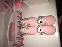 Baby crib shoes x2