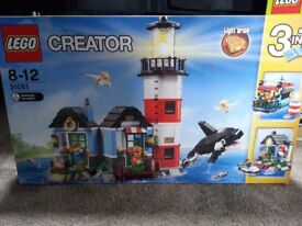 Lego creator sets - various and as priced. Brand new in box