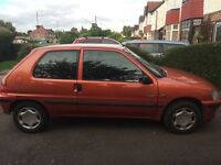 PEUGEOT 106, GOOD CONDITION, RELIABLE, MOT UNTIL JULY 2017