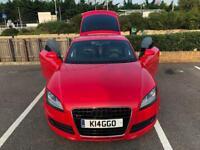 Audi TT 3.2 Quattro Red
