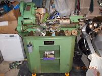MYFORD SUPER7 LATHE WITH POWER CROSS FEED AS PER PICTURES