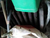 Back boiler for fireplace