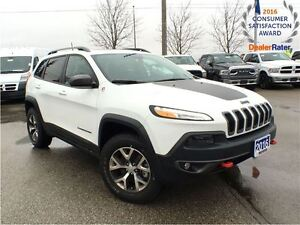 2016 Jeep Cherokee *TRAILHAWK*LEATHER INTERIOR GROUP*PANORAMIC S