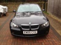 BMW 320D E90 , Black 2005 Full Service 12 Months MOT £2400