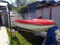Boat and mercury 7.5
