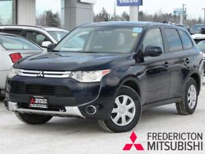 2015 Mitsubishi Outlander ES | 4WD | HEATED SEATS | WARRANTY TO