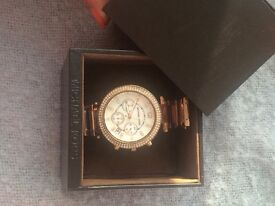 ROSE GOLD MICHAEL KORS EMBEZZELED WATCH