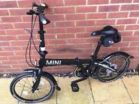 MINI fold up bicycle